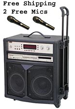 Audio 2000 AKJ7801 All in One Karaoke System